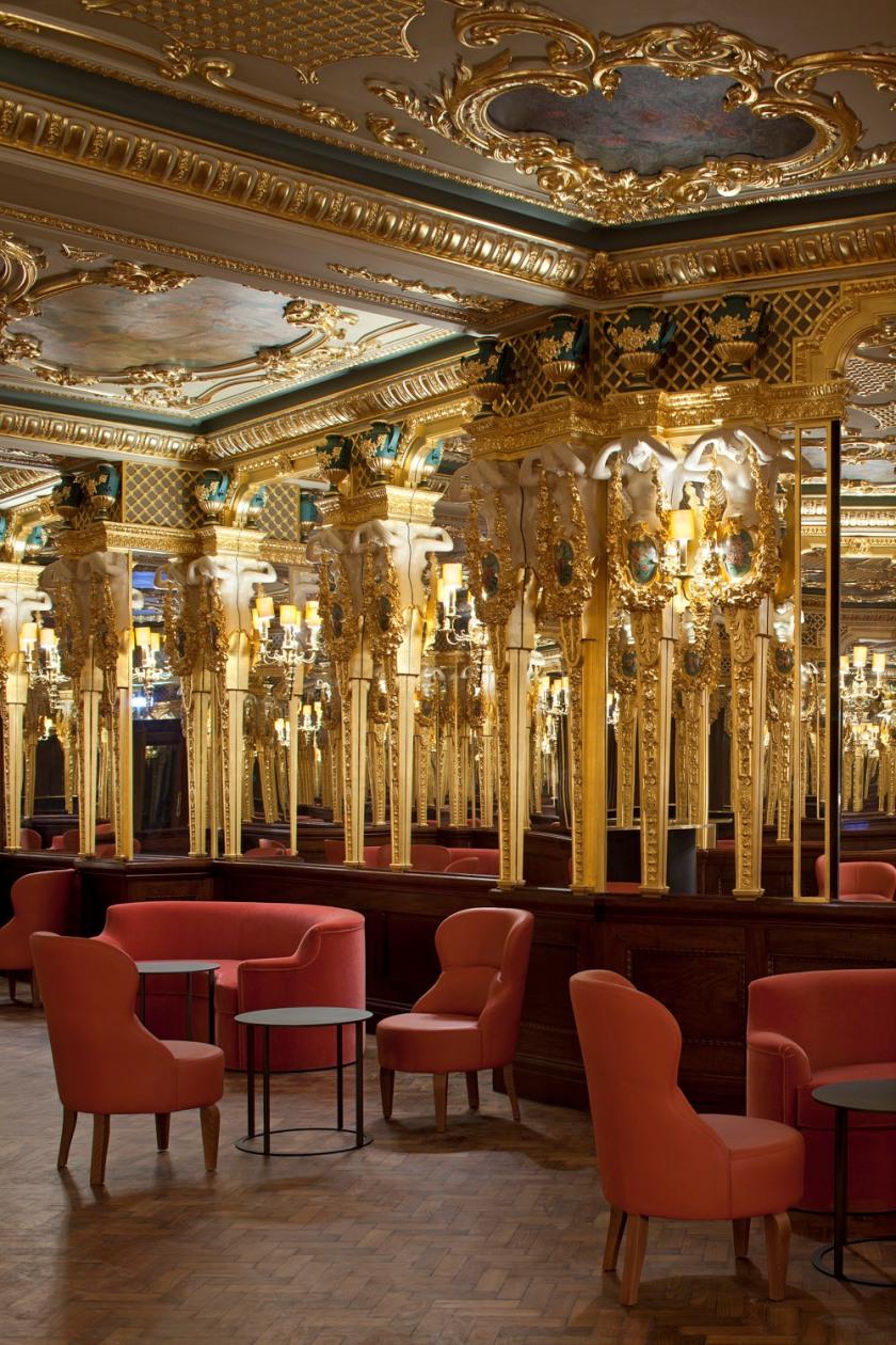 grill room at cafe royal hotel london bar