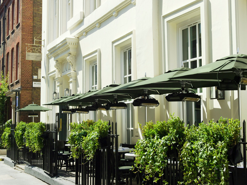 dean street townhouse terrace