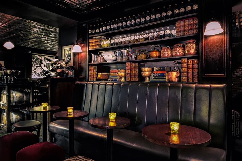 Nightjar interior booths
