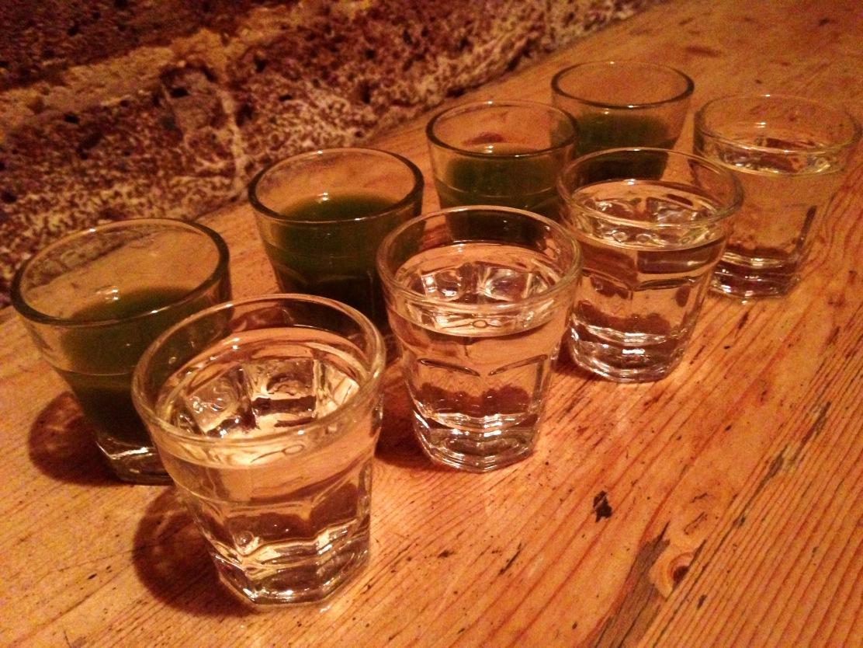 casita shoreditch tequila con verdita