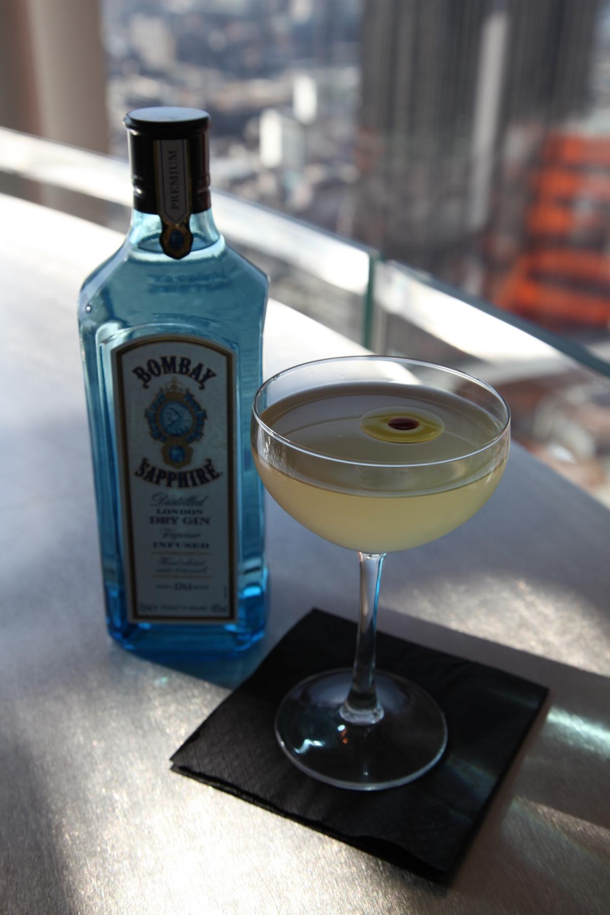 Callooh Callay Imaginarium pop-up Bombay Sapphire cocktail