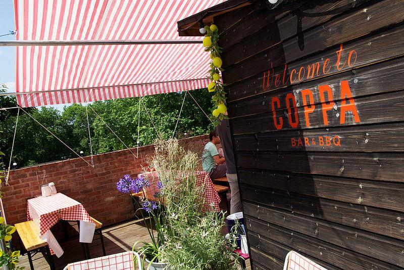 Coppa rooftop Bar London
