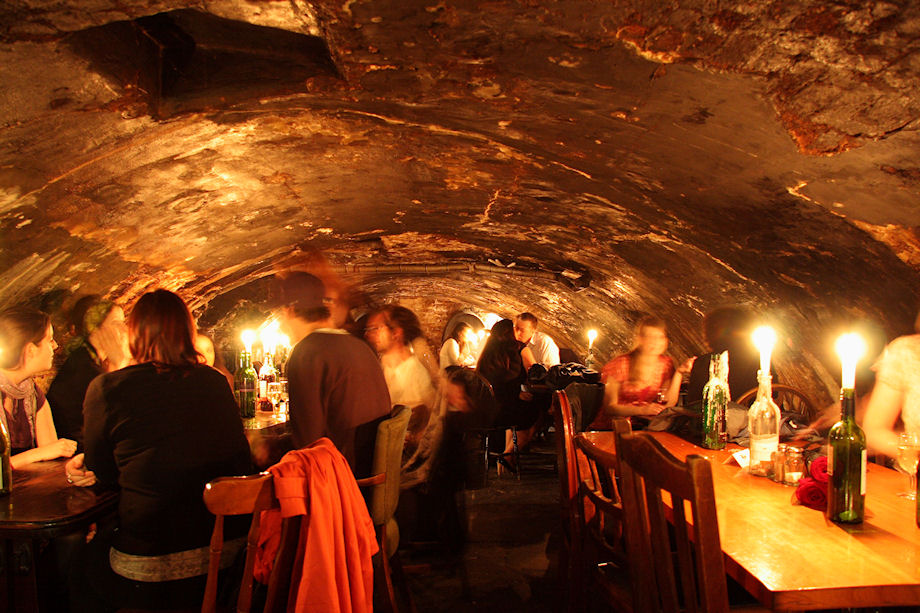 Gordon's Wine Bar cave