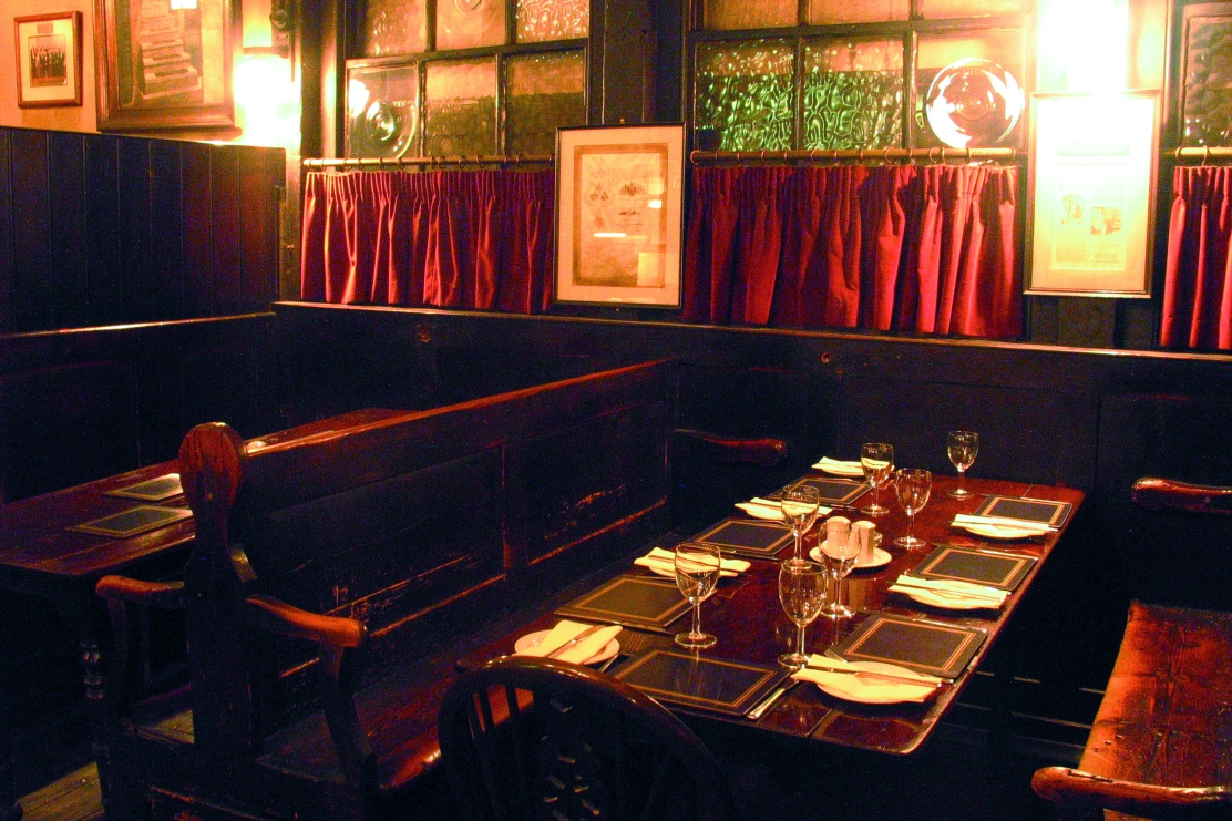 Ye Olde Cheshire Cheese, The Chop House
