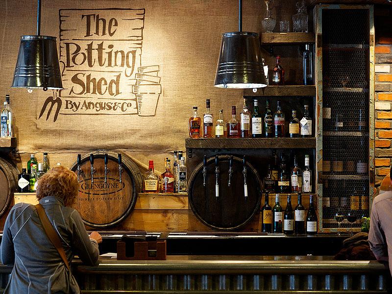 Potting Shed bar, Edinburgh
