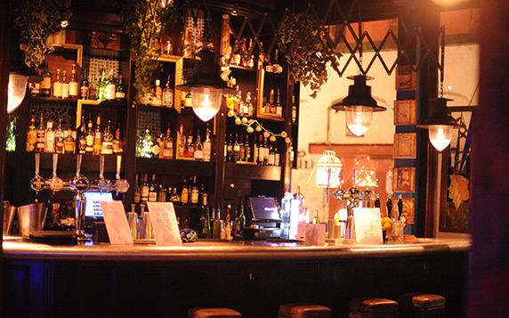 The Blue Pig Bar Manchester