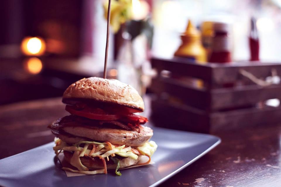 The Dolphin burger Hackney