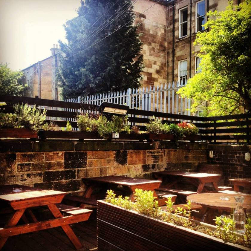 The Finnieston Glasgow Beer Garden