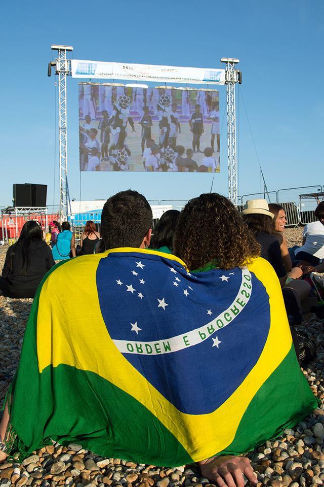 Brighton's Big Screen World Cup 2014