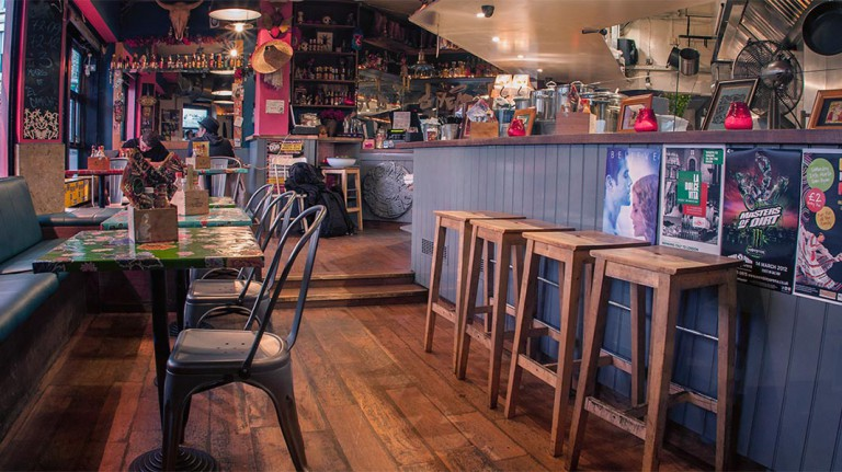 El Camion Soho - where to watch the World cup - Mexican bar and restaurant