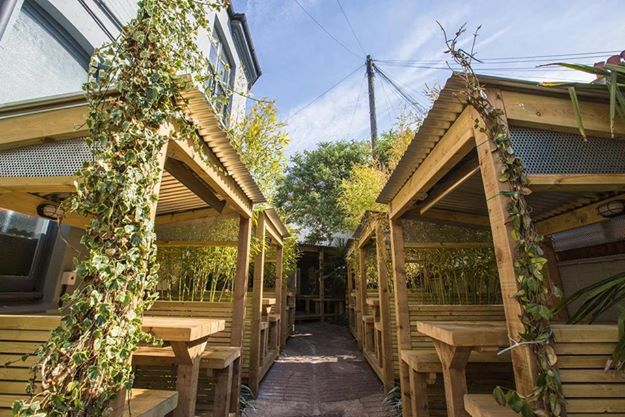 The Hare and Hounds, Brighton beer garden