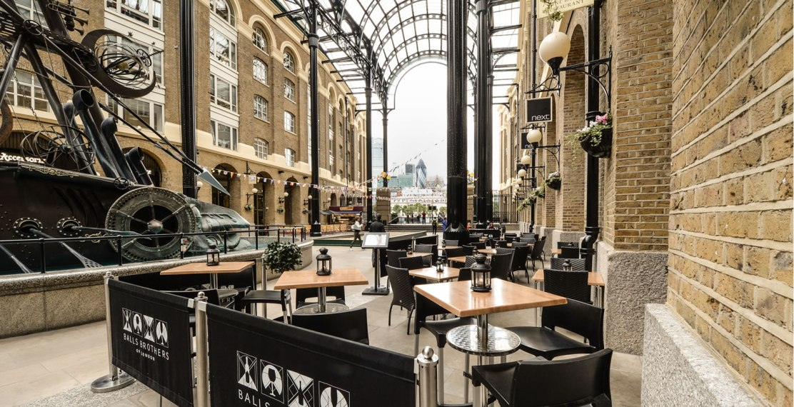 Hay's Galleria covered pub Southbank