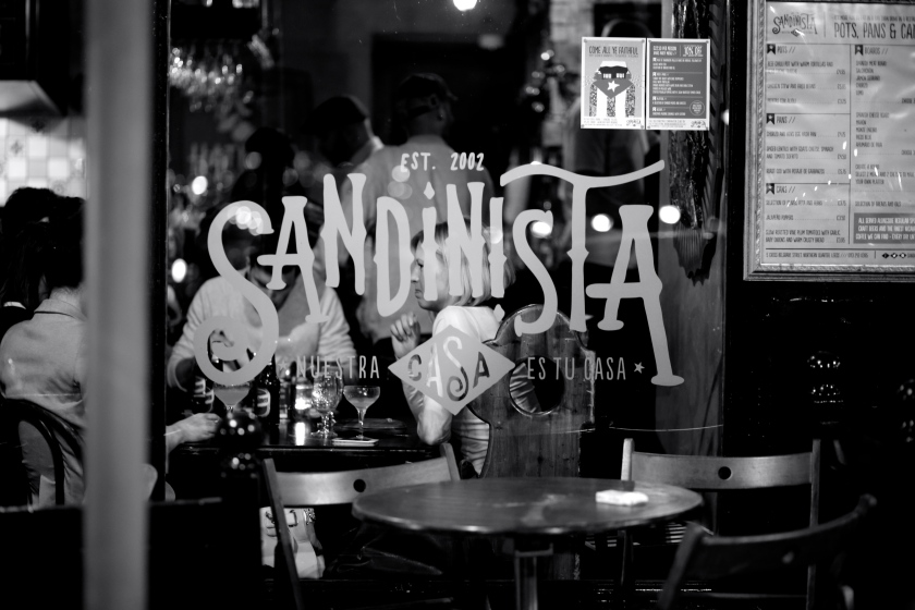 Sandinista Leeds latin American cocktail bar