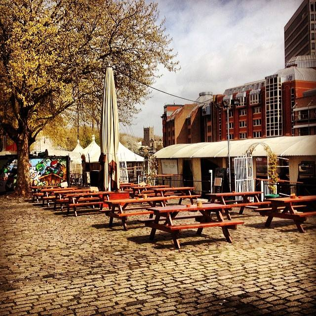 The Apple Bristol alfresco