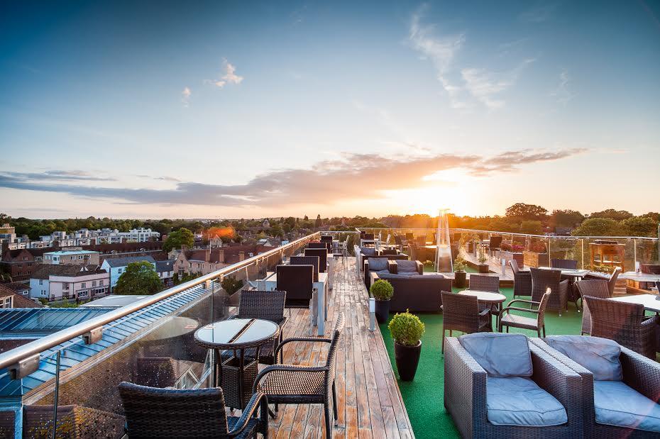 The Varsity hotel rooftop cambridge