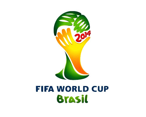 FIFA World Cup 2014 logo where to watch