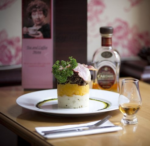 Arcade Haggis Whisky House Edinburgh food