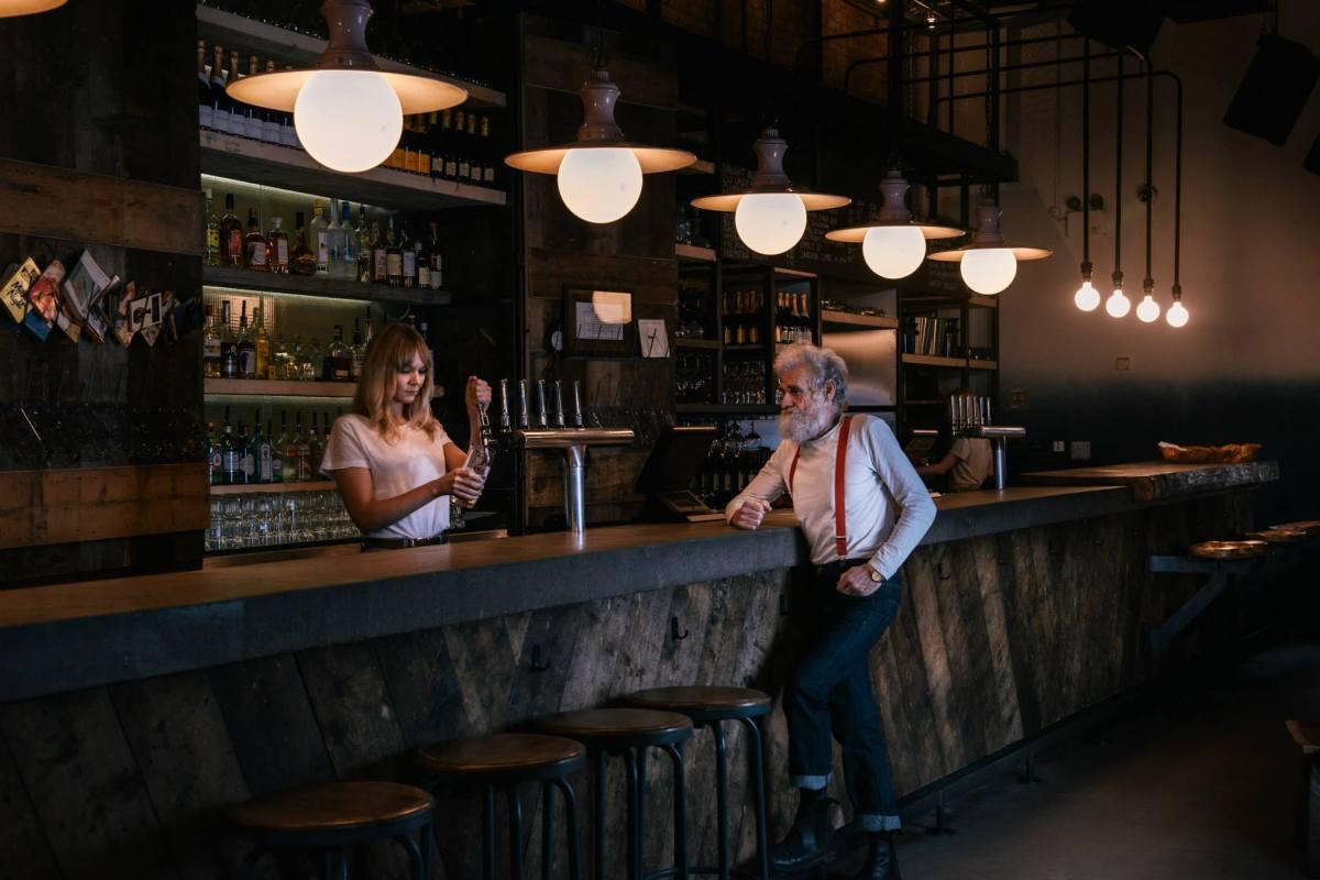 Oslo Hackney bar