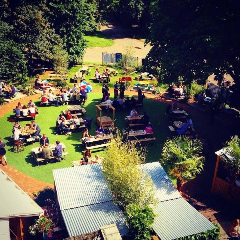 People's Park Tavern beer garden