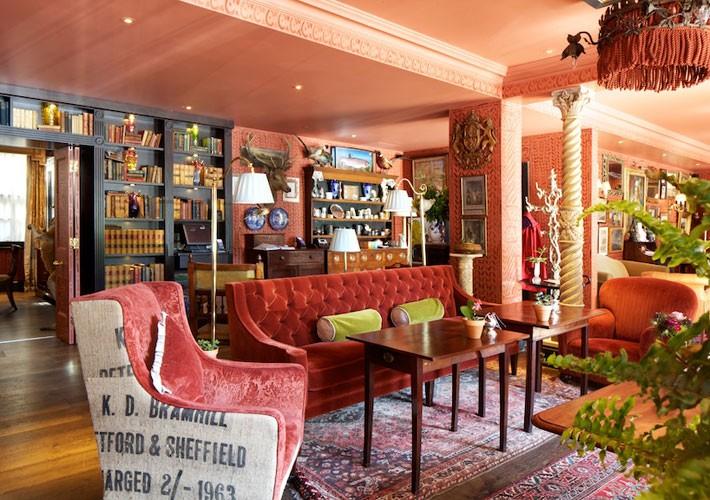 Zetter Townhouse lounge