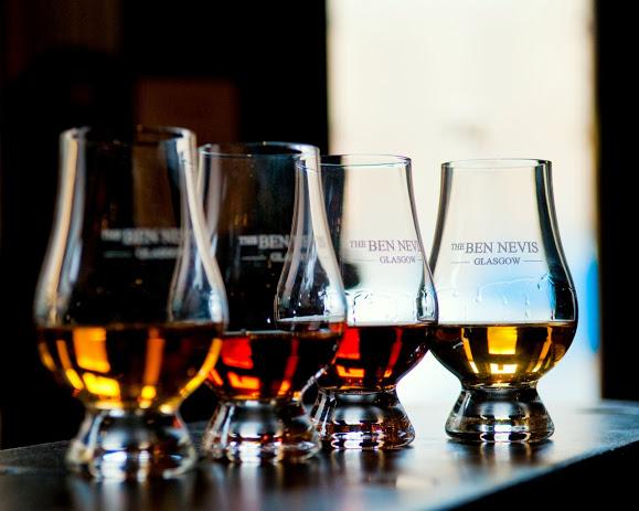 Ben Nevis Glasgow whisky