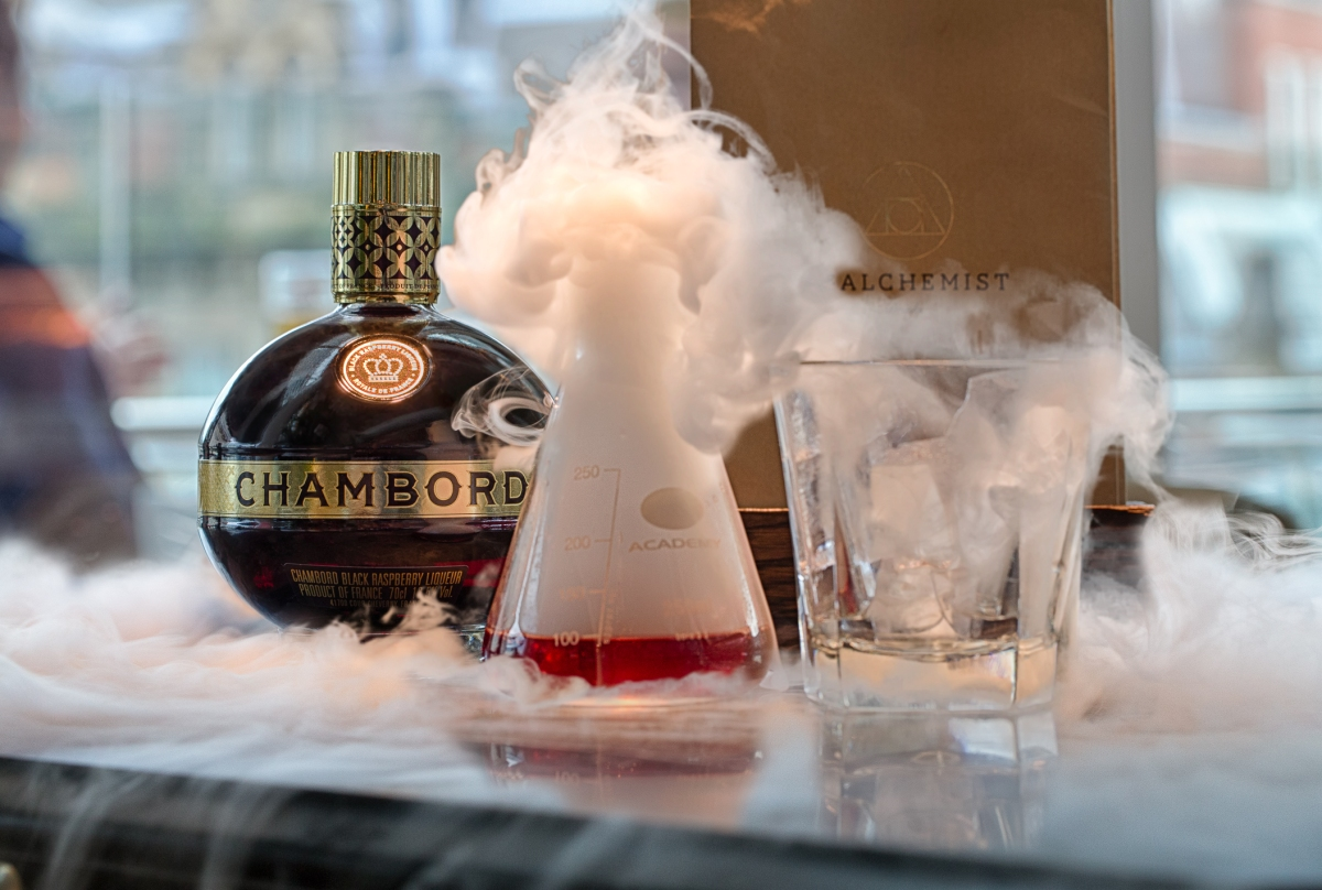 Chambord The Alchemist Cocktails in the City