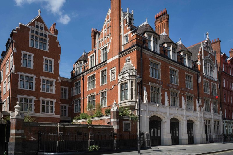 Chiltern Firehouse Marylebone exterior
