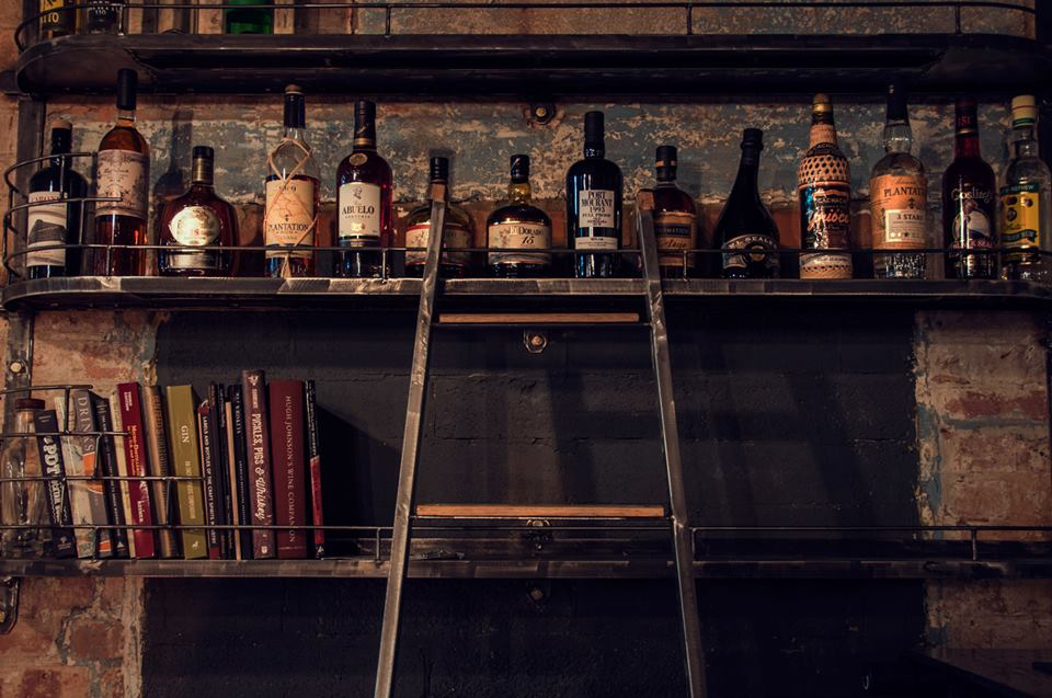 East London Liquor Company backbar