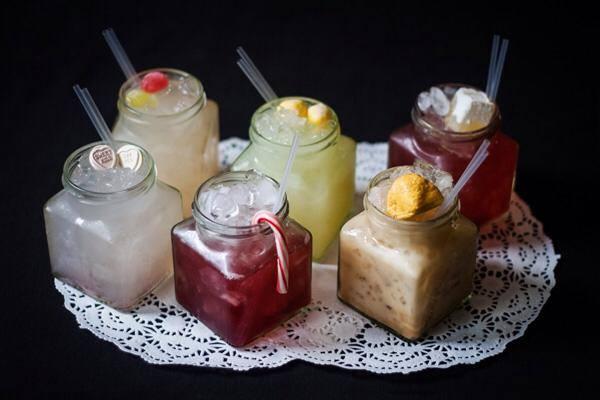 Jekyll and Hyde Birmingham cocktail jars