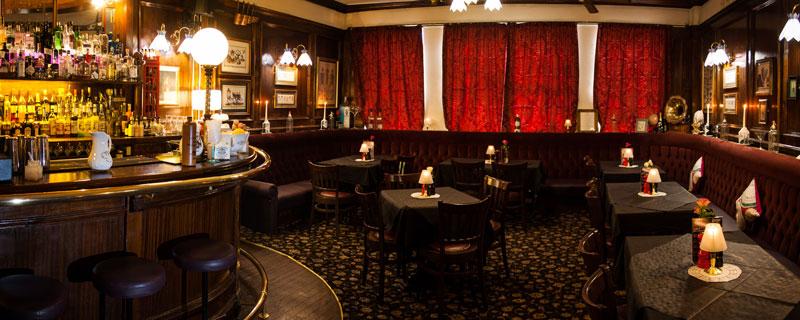 Jekyll and Hyde Birmingham gin parlour panoramic