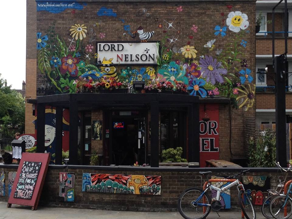 Lord Nelson Pub Southwark