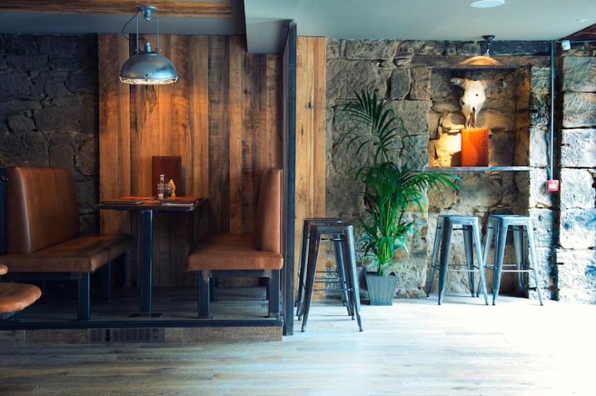 Meat Bar Glasgow interior
