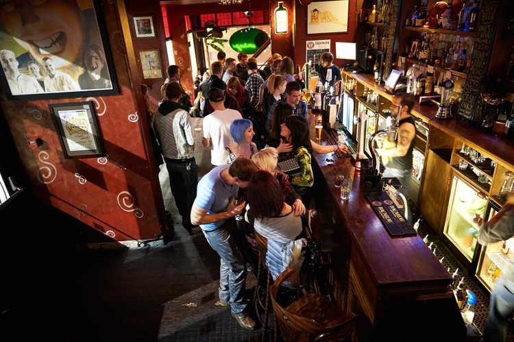 Santiago Bar Leeds people