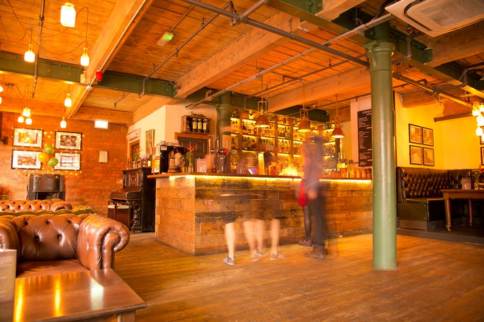 The Whiskey Jar bar Manchester Lucas Smith