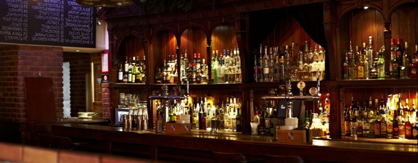Bar Kohl Edinburgh backbar