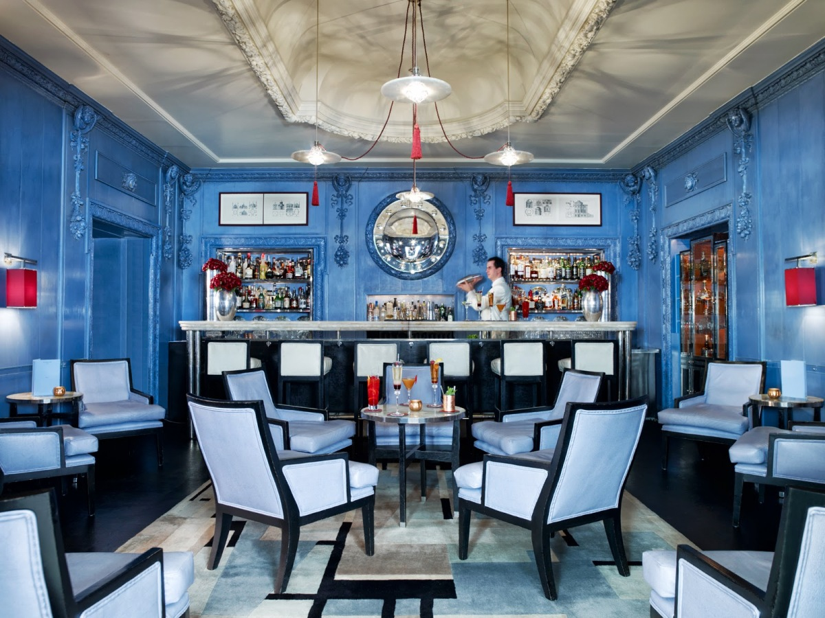 Blue Bar at The Berkeley interior