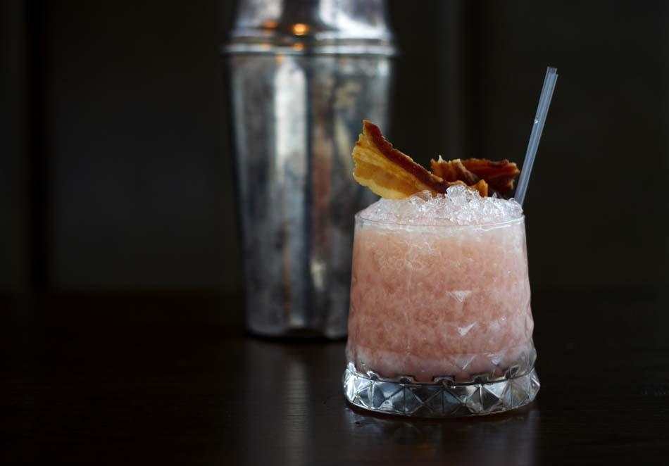 Rare Leeds bacon cocktail