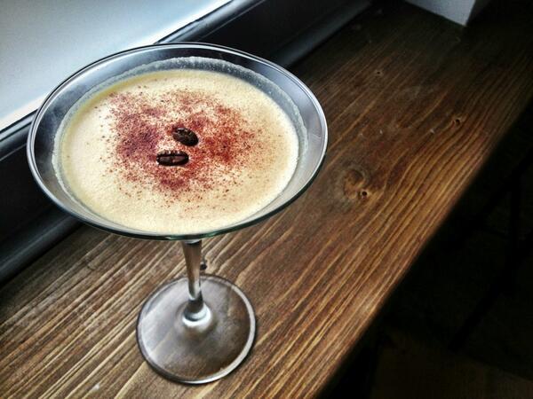 Cuckoo Bar Manchester Tiramisu cocktail