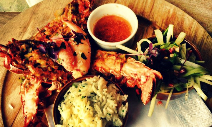 Lion and Lobster Brighton food