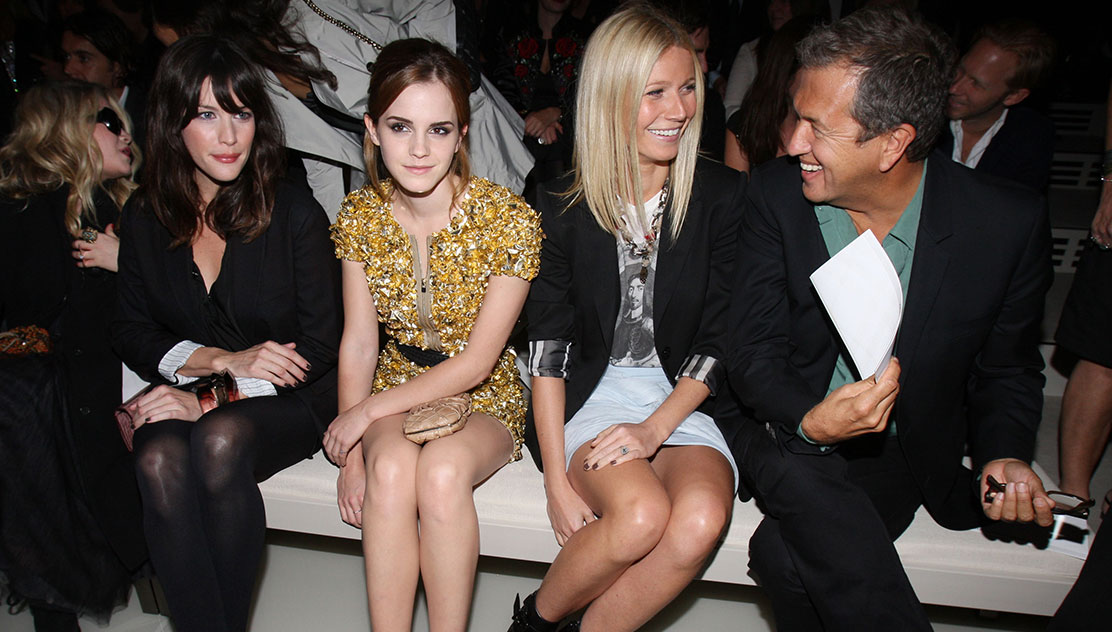 London Fashion Week front row high res