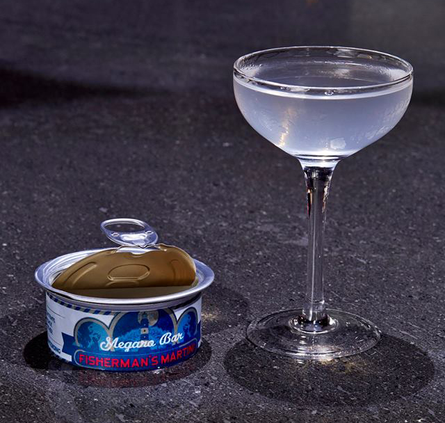 Megaro Bar Fisherman's Martini