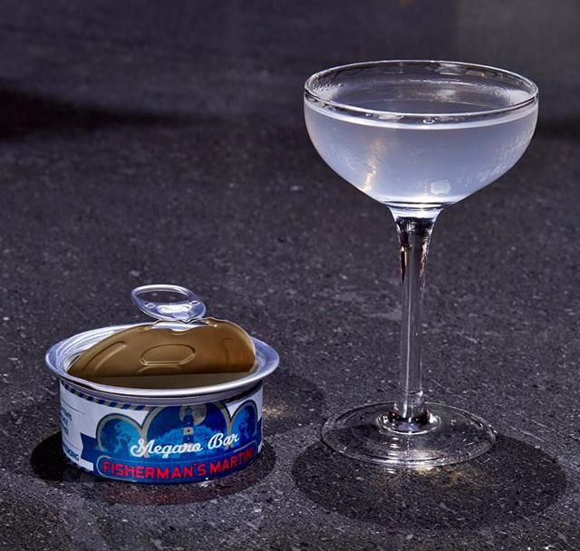 Megaro Bar Fisherman's Martini