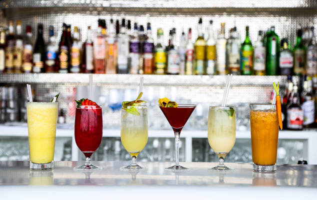 OXO Tower London Southbank mocktails