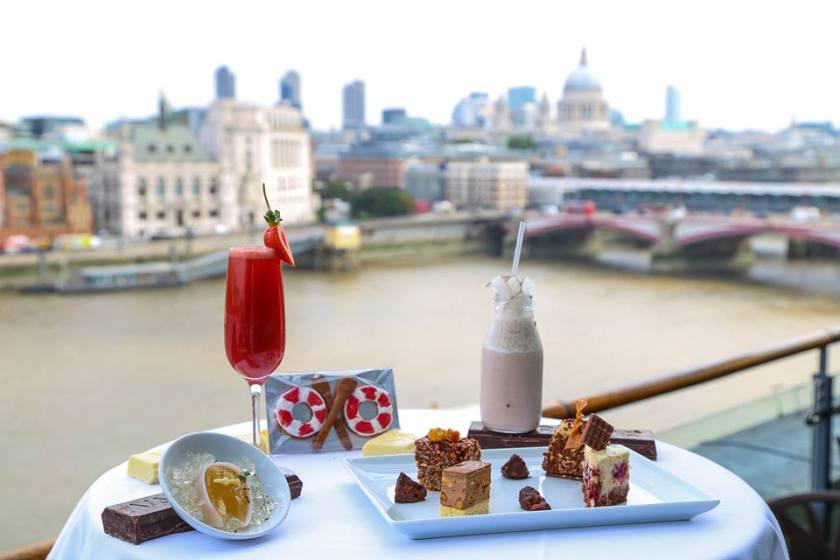 OXO Tower London Southbank afternoon tea