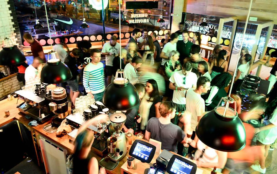 Shoreditch Grind crowd
