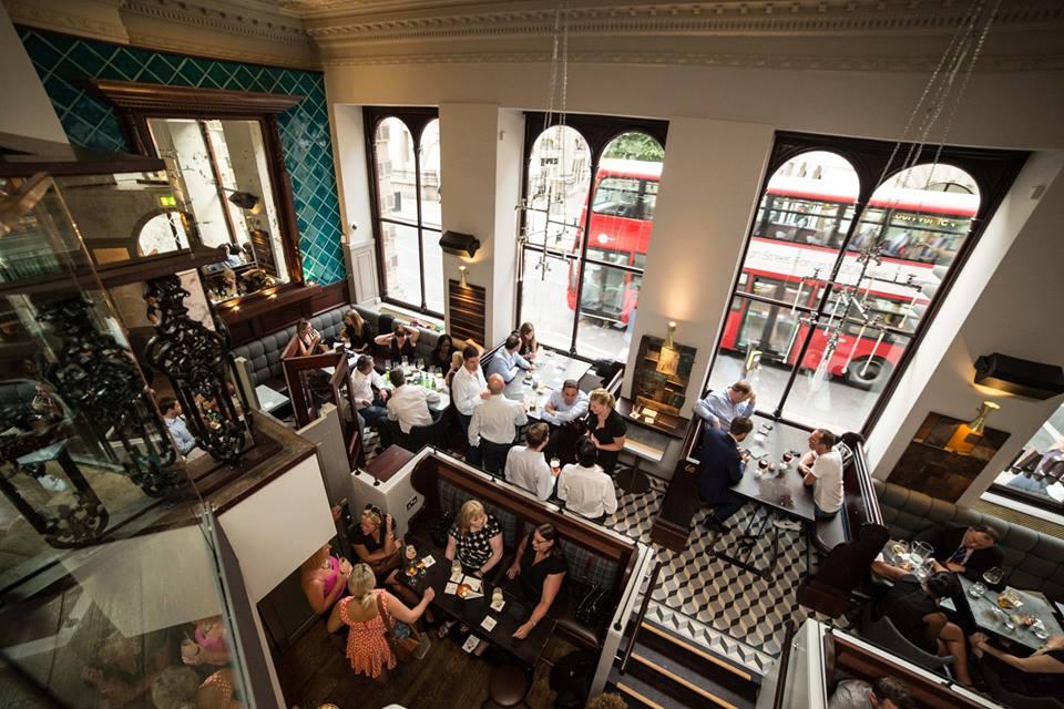 Silk and Grain Cocktail Bar Restaurant City London