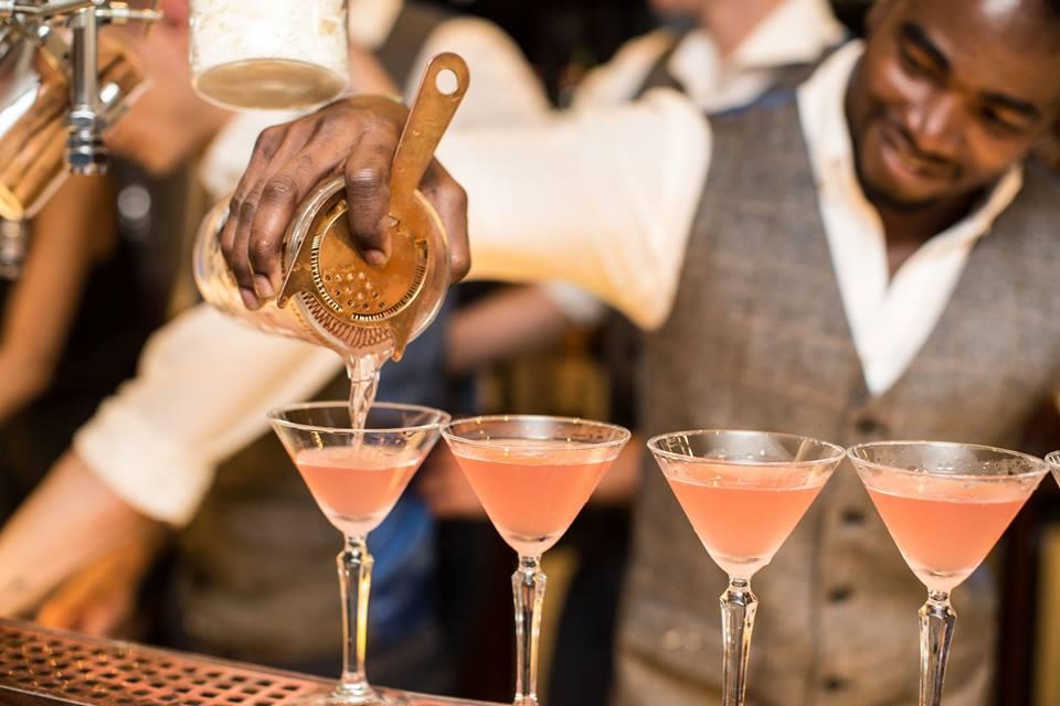 Silk and Grain bartender cocktails