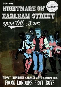 Earlham Street Clubhouse Halloween