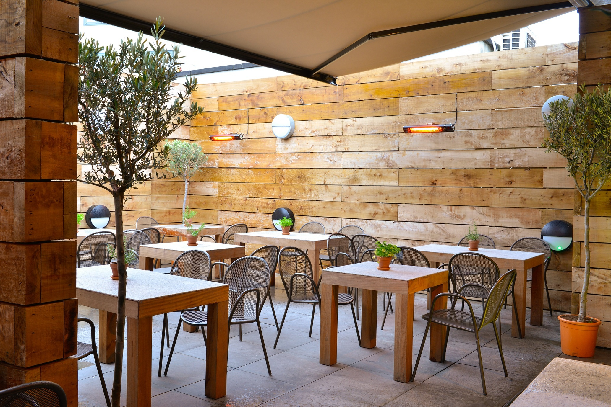 The 7 best bars for winter alfresco sipping for Terrace bar menu