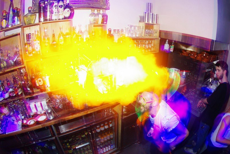 Neon Cactus Leeds fire